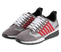 Sneaker 251 - grau/ weiss/ rot
