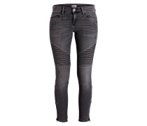 Skinny-Jeans EUROPE - edgy black stretch