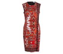 Kleid - rot/ schwarz/ marine