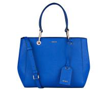 Saffiano-Handtasche - blau