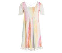 Kleid RAINBOW - gelb/ rosa/ türkis