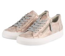 Sneaker - rosé metalic