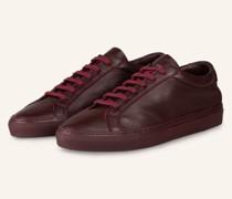 Sneaker - DUNKELROT