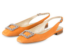 Sling-Ballerinas - orange