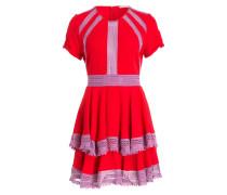Kleid RAGLIA - rot/ violett