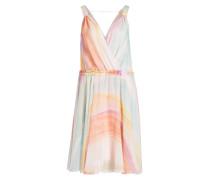 Kleid - rosa/ orange/ hellblau