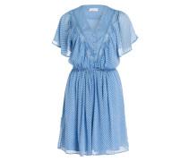 Kleid RIRI - hellblau/weiss