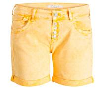 Jeans-Shorts PIXIE - senfgelb