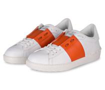 Sneaker - weiss/ orange