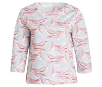 Sweatshirt mit 3/4-Arm - grau