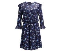 Kleid ROSANA - dunkelblau/ hellblau/ weiss