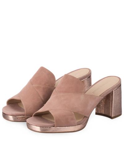 ELVIO ZANON Damen Plateau-Mules - ROSÉ 100% Ig Garantiert Günstiger Preis Outlet Mode-Stil Perfekt Zum Verkauf cJO7P