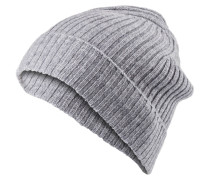 Cashmere-Mütze - hellgrau