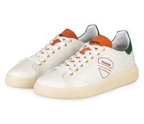 Sneaker KEITH - WEISS/ GRÜN/ DUNKELORANGE
