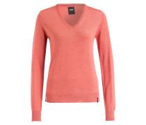 Pullover KEY - koralle