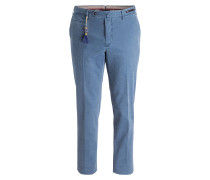 Chino Slim-Fit - blaugrau