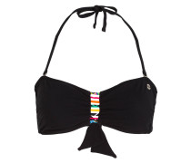 Bandeau-Bikini-Top SPRING - schwarz