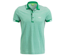 Piqué-Poloshirt PAULE Slim-Fit - grün