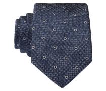 Krawatte - blau/ grau