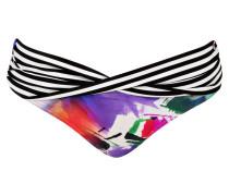 Bikini-Hose - pink/ lila/ schwarz