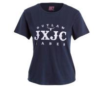 T-Shirt OUTLAW BABES - dunkelblau