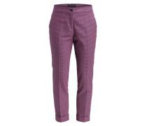 7/8-Hose - pink/ blau