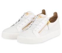 Sneaker FRANKIE - WEISS/ GOLD