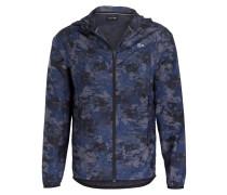 Jacke - blau/ grau/ schwarz