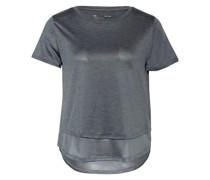 T-Shirt UA TECH VENT mit Mesh-Einsatz