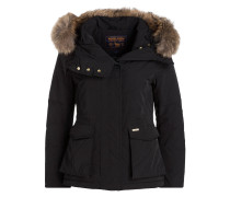 Daunenparka SHORT MILITARY