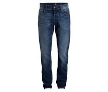 Jeans LARRY Slim-Tapered-Fit - blau