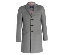 Mantel GLENNY - grau meliert