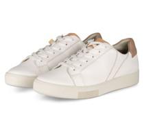 Sneaker - WEISS/ NUDE