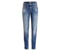 Jeans PEDAL LINE - blau