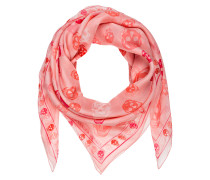 Seidentuch - pink/ hellrosa
