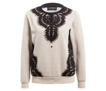 Sweatshirt AZARAK - beige/ schwarz/ marine