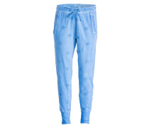 Sweatpants CROTCH STAR - blau