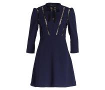 Kleid REMALA - dunkelblau/schwarz