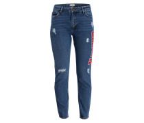Destroyed-Jeans - bluv blue vintage denim