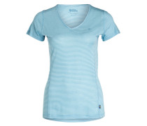 T-Shirt ABISKO COOL - blau