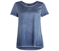 T-Shirt CISIGNE im Materialmix