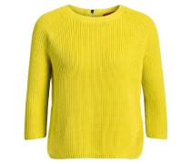 Pullover SIRINA mit 3/4-Arm - gelb