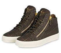 Hightop-Sneaker JIMBO - braun