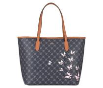 Shopper LARA BUTTERFLIES - blau