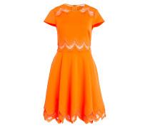 Kleid - neonorange