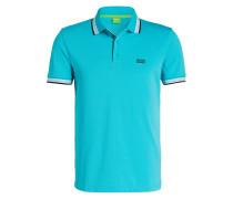 Piqué-Poloshirt PADDY Modern-Fit - blau