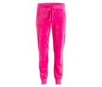 Sweatpants - neonpink