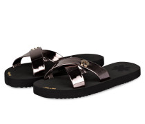 Sandalen CROSS METALLIC
