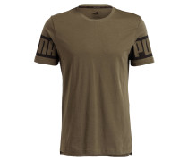 T-Shirt REBEL - olivt schwarz