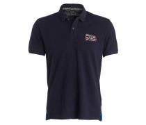 Piqué-Poloshirt EROL - blau